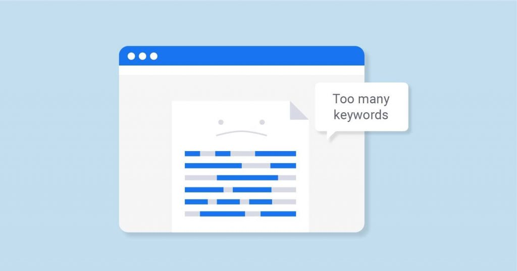 تراکم کلمات کلیدی یا Keyword density
